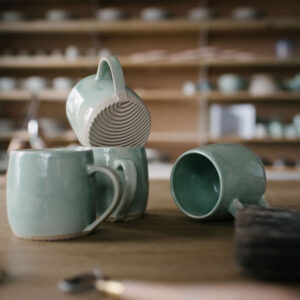 Collection of small mugs