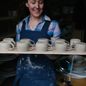 Board of expresso cups